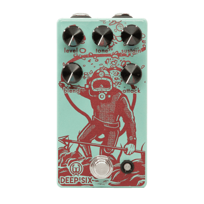 NEW! Walrus Audio Deep Six Compressor V3 FREE SHIPPING! for sale