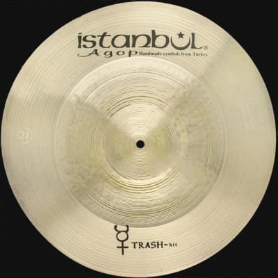"""Istanbul Agop Traditional 21"""" Trash Hit"""