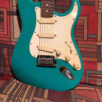 Fender Strat Plus 1989 Bahama Green for sale