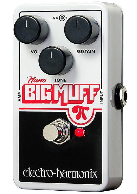 Electro-Harmonix EHX Nano Big Muff Pi Distortion / Fuzz / Overdrive Effects Ped