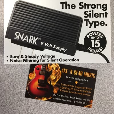 Snark SA-1 9 Volt Power Supply