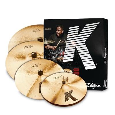 Zildjian K Custom Dark Cymbal Pack- 14/16/18/20 - KCD900 - 642388313978 Traditional/Brilliant