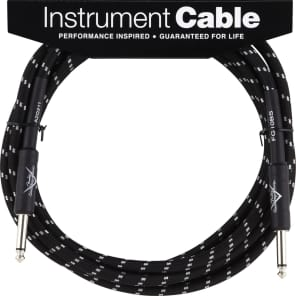 Fender Custom Shop Performance Series 10ft Instrument Cable - Black Tweed for sale