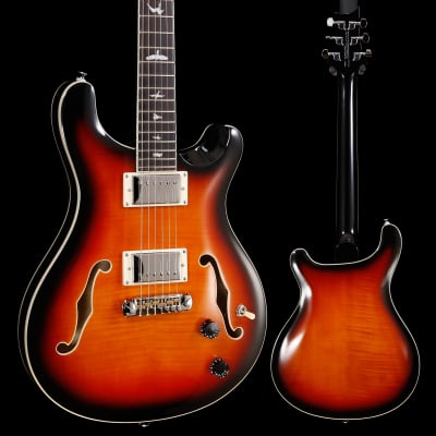 PRS Paul Reed Smith SE Hollowbody II, Tri-Color Sunburst 096 6lbs 0.3oz for sale