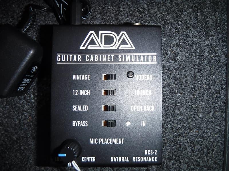ada gcs 2 guitar cabinet simulator consignment reverb. Black Bedroom Furniture Sets. Home Design Ideas