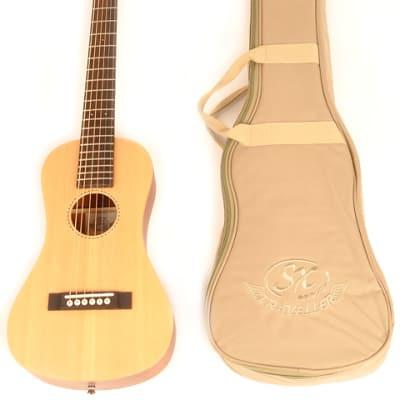 SX Trav 1 Travel Guitar Portable Acoustic for sale
