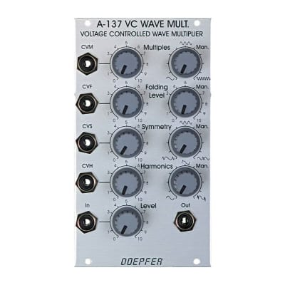 Doepfer A-137 VC Wave Mult Voltage Controlled Wave Multiplier