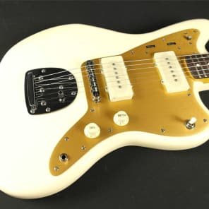 Squier Squier J Mascis Jazzmaster- Rosewood Fingerboard- Vintage White (662) for sale