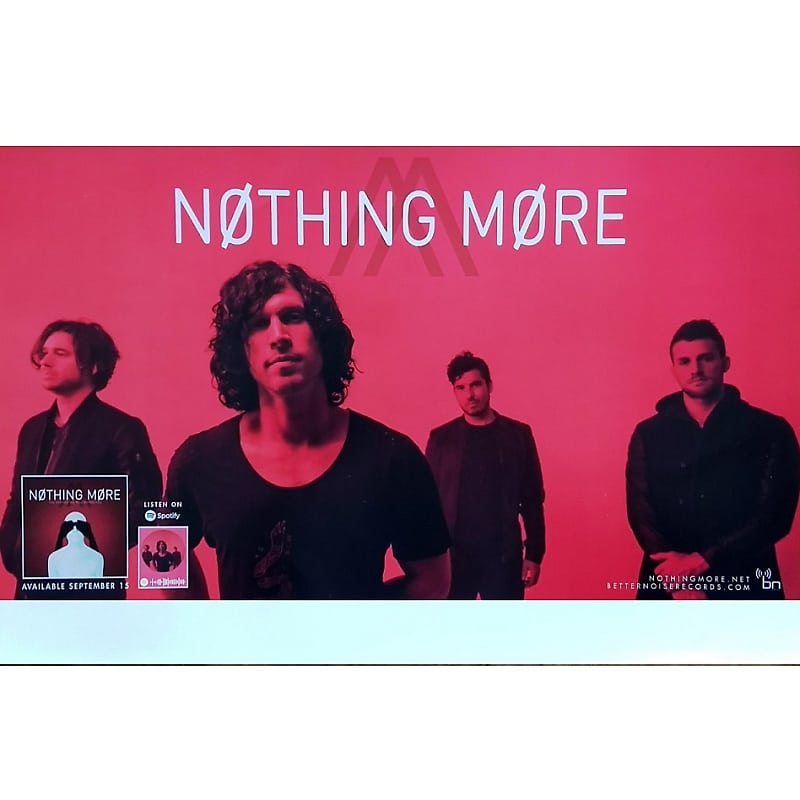 Nothing More - Stores We Tell Ourselves Ltd Ed New Rare Tour Poster!  Shinedown Volbeat Bad Wolves