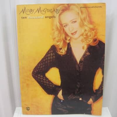 Mindy McCready Ten Thousand Angels Sheet Music Song Book Piano Vocal Guitar Chords