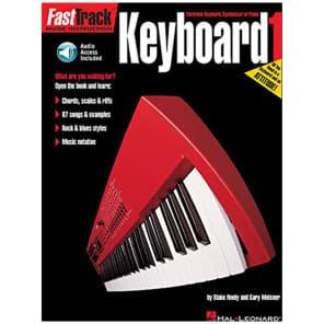 Hal Leonard Fast Track Keyboard Method Book 1 with CD