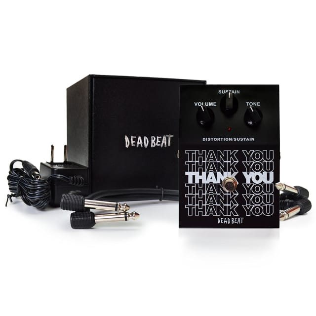 THANK YOU Distortion and Sustain Effect Pedal image