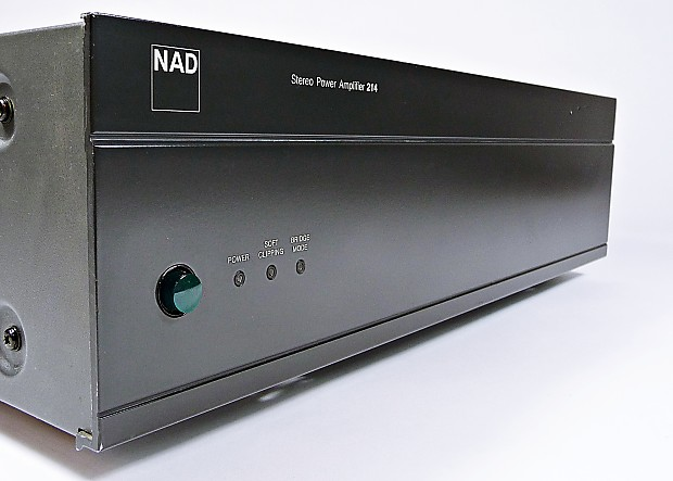 NAD 214 Audiophile Stereo 2-Channel Power Amplifier