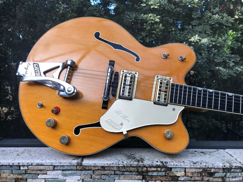 Gretsch 6120 Chet Atkins Orange 1962