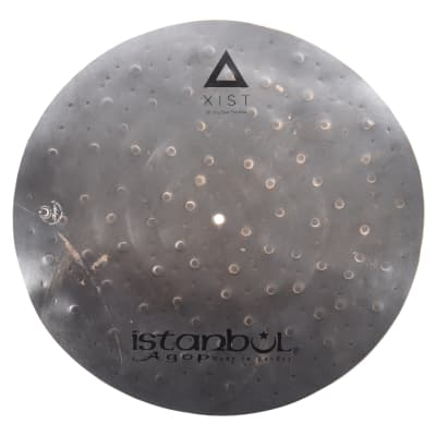 "Istanbul Agop 20"" Xist Dry Dark Flat Ride Cymbal"