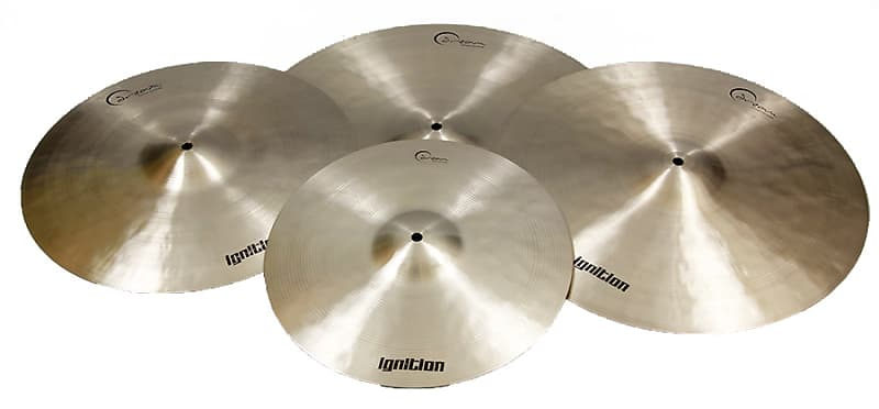 dream cymbals ignition series 4 pc cymbal pk new free reverb. Black Bedroom Furniture Sets. Home Design Ideas