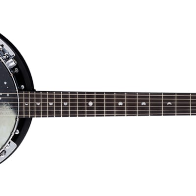 Luna Guitar Moonbird 6-String Acoustic/Electric Banjo w/ Pickup - BGB MOON 6E for sale