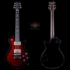 PRS McCarty Singlecut SC 594 Artist Package, Flame Maple Top, RW Neck, Ebony FB, Custom Color - Fire Red Burst (131) for sale