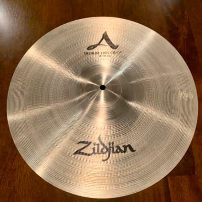"Zildjian 18"" A Medium Thin Crah 2019 Traditional"