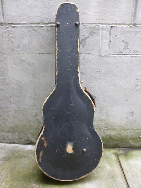 geib schaffer vintage archtop guitar case 1930 39 s reverb. Black Bedroom Furniture Sets. Home Design Ideas