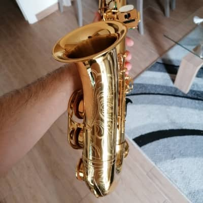 Professional B&S Series 2001 alto saxophone, completely handmade sax.