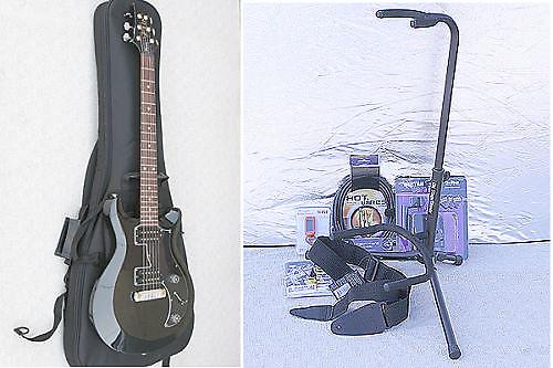 prs mira s2 paul reed smith black guitar free bonus package reverb. Black Bedroom Furniture Sets. Home Design Ideas