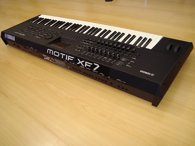 Yamaha Motif XF7 2012 Black | JayKeyz Gear Outlet