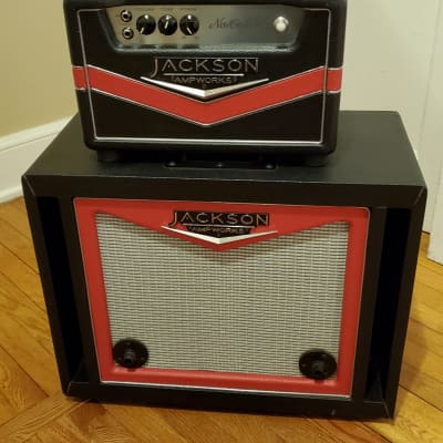 Jackson Ampworks Newcastle 30 Head with Isolation Cab (Willing To Ship)