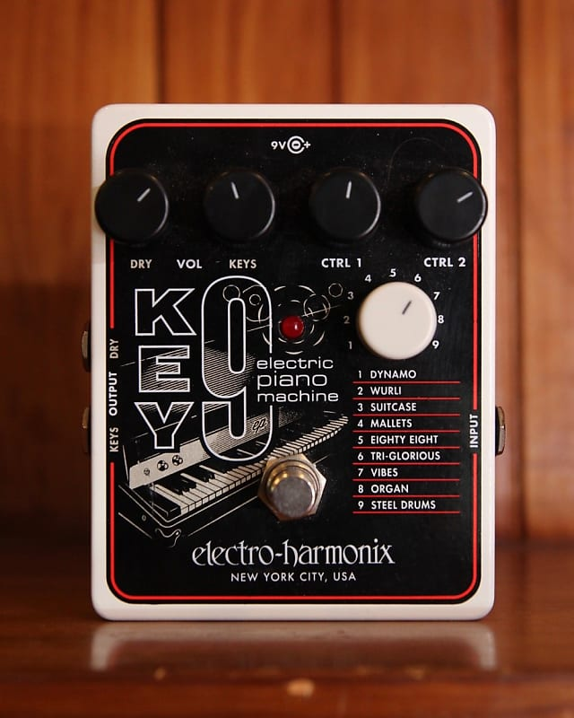 electro harmonix key9 electric piano machine pedal pre owned reverb. Black Bedroom Furniture Sets. Home Design Ideas