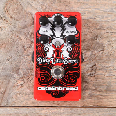 Catalinbread Dirty Little Secret Marshall-Style Overdrive Red USED