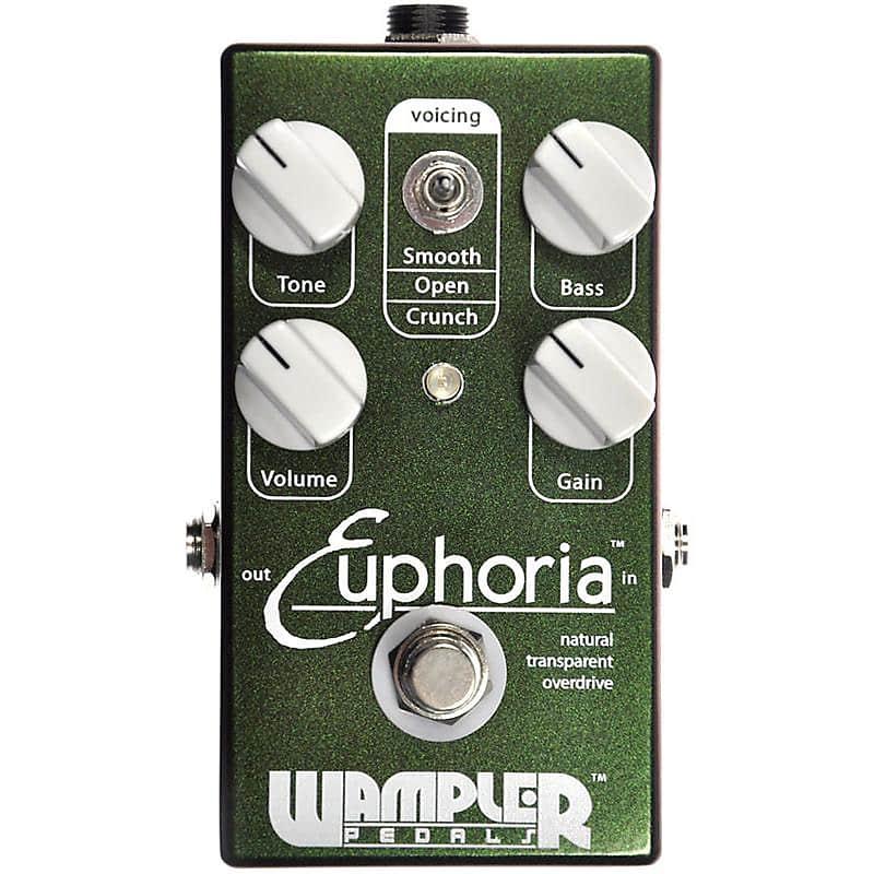 wampler euphoria natrual transparent overdrive pedal reverb. Black Bedroom Furniture Sets. Home Design Ideas