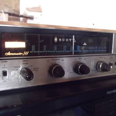 Vintage Scott 344 Solid State Stereo Receiver Serviced