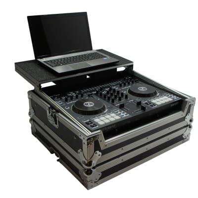 Harmony HCDJ505LT Flight Glide Laptop Stand DJ Custom Case for Roland DJ-505 New