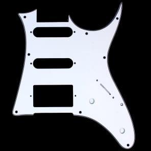 Custom Guitar Pick Guard For Ibanez RG 40 ,HSS ,3ply White