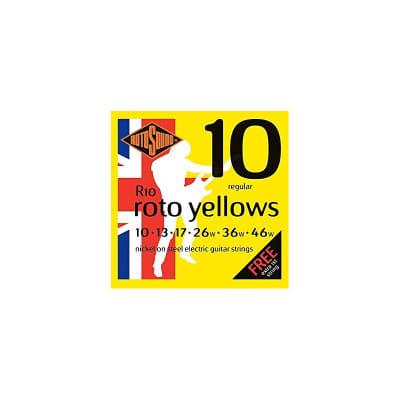 Rotosound Roto Yellows Electric Strings 10-46