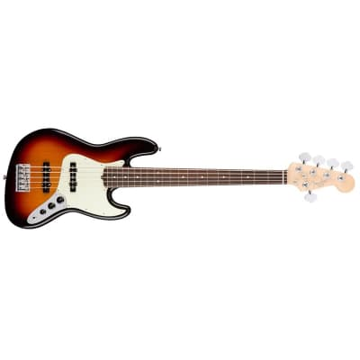 Fender American Professional Jazz Bass V 5-String (3 Colour Sunburst, Rosewood) for sale