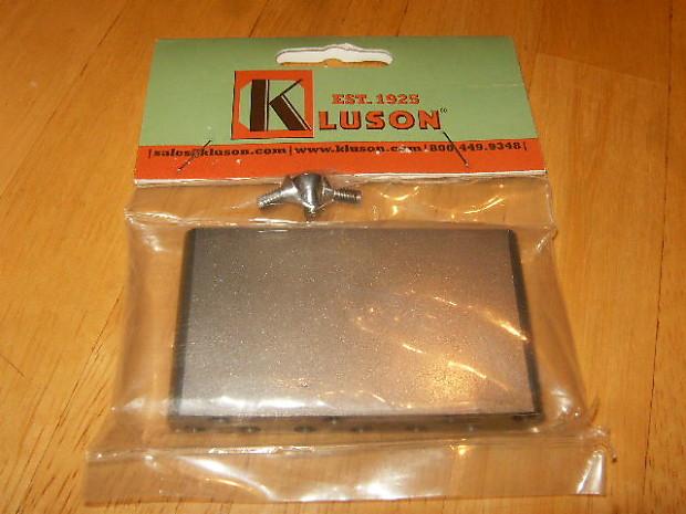 Kluson Lefty Strat Tremolo Block - Steel - Vintage KVSB LH for Fender  Stratocaster Guitar