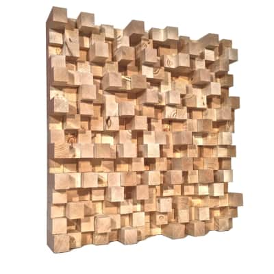 SONIC DIFFUSERS - Natural Wood  -  (2FT x 2FT)