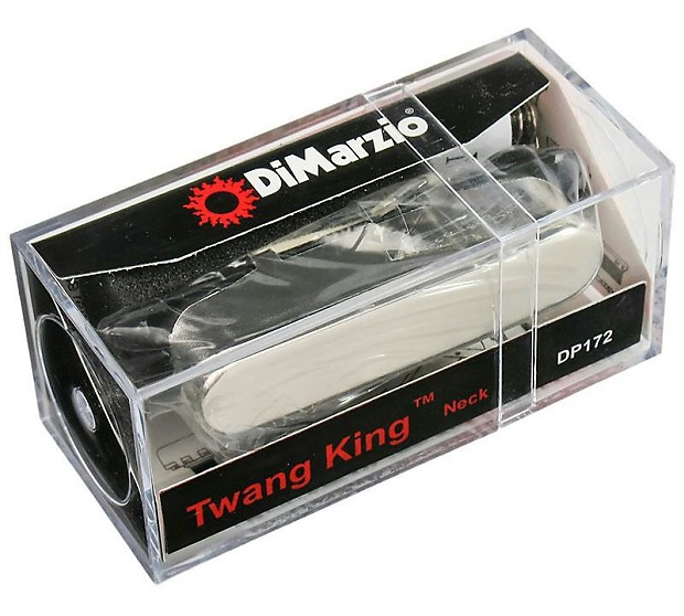 Dimarzio Twang King : dimarzio dp172 twang king neck pickup for telecaster chrome reverb ~ Vivirlamusica.com Haus und Dekorationen
