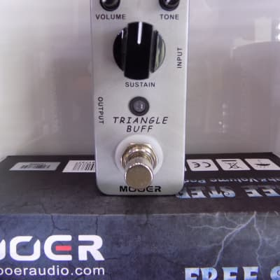 Mooer Triangle Buff Fuzz Pedal for sale