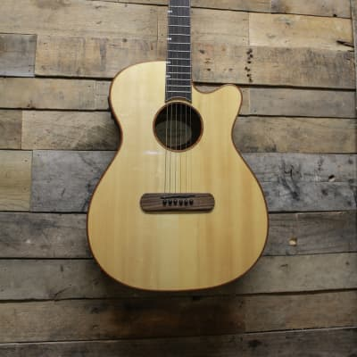 James Neligan LIS-MJCFI Acoustic/Electric Guitar Solid Spruce Top,Fishman Pickup for sale