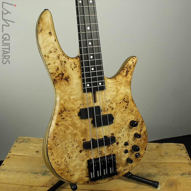 Fodera Monarch 4 Standard Special Poplar Burl Bass