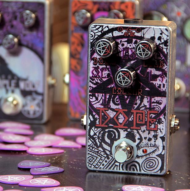 occvlt pedals dope fuzz pedal handmade guitar effect stoner reverb. Black Bedroom Furniture Sets. Home Design Ideas