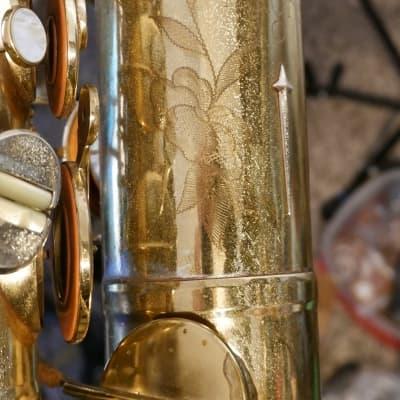 Martin Magna Tenor Saxophone 1963 Gold Lacquer 212XXX