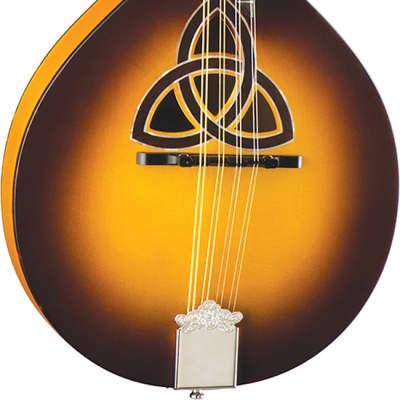 Luna Trinity A-Style Mandolin w/ Celtic Inlay BGM TRI A for sale