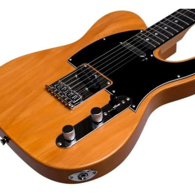 Jay Turser JT-LT-N LT Series Single Cutaway Solid Body Maple Neck 6-String Electric Guitar for sale