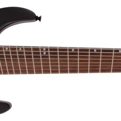 JACKSON - X Series Soloist Arch Top SLATX8Q MS  Laurel Fingerboard  Multi-Scale  Transparent Black Burst for sale