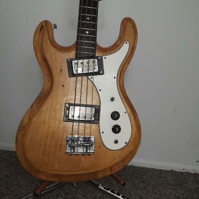 Univox Hi-Flyer Bass White 1971 for sale