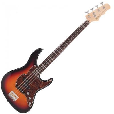 Fret-King FKV4OCB Black Label Perception HardRock Maple Neck 4-String Electric Bass Guitar w/Gig Bag for sale