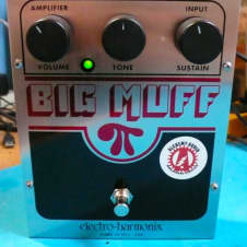 Electro-Harmonix Big Muff Fuzz Distortion Alchemy Audio Modified Guitar Pedal